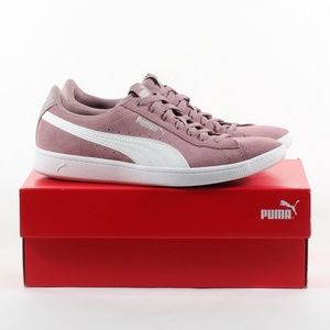 Women's Puma Suede Sneaker Everyday Shoes Pink 8.5